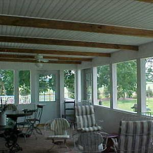Sun Porch Interior