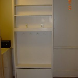 Mud Room Cabinet for Shoes and Backpacks