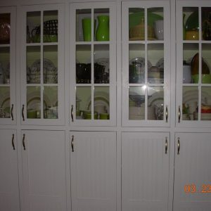 Custom Dish Cupboard