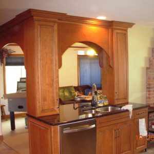 Remodeled Kitchen with Archways